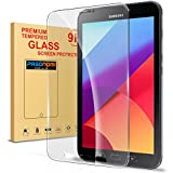 """Tab Active 2 Screen Protector, Pasonomi Premium Tempered Glass Screen Protector Film for Samsung Galaxy Tab Active 2 8.0"""" T390 T395 Tablet"""