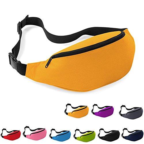 Katech Wandern Taille Pack Running Taille Tasche Männer und Frauen Outdoor Sport Wallet Beutel Mode Gürteltasche Orange