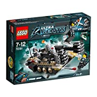 LEGO Agents 70161: Tremor Track Infiltration