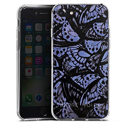Apple iPhone X Silikon Hülle Case Schutzhülle Schmetterlinge Flügel Muster Silikon Case transparent