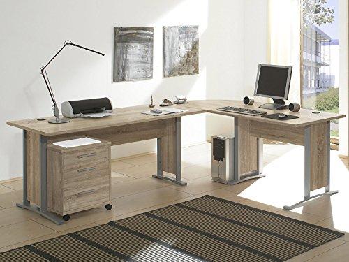 Schreibtisch-Kombination Winkelschreibtisch Bürotisch Arbeitstisch