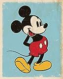 Mickey Mouse Retro, Multicolour, 40-0.1-50CM