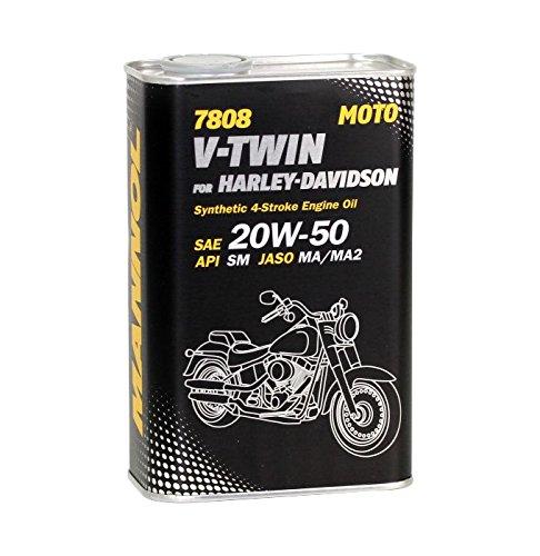 MANNOL 7808 V-Twin for Harley-Davidson API SM Motorradöl 20W-50 1L ML10228