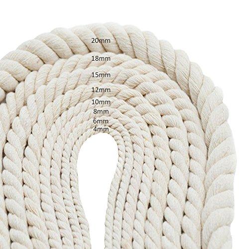 Cordones de algodón para colgar en la pared