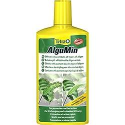 Tetra AlguMin (zur sicheren Algenbekämpfung auf milde biologische Weise, schnell und hochwirksam gegen alle Algenarten), 500 ml Flasche