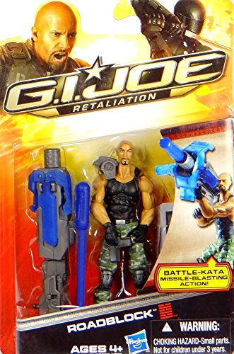 G.I. Joe Roadblock with Battle-Kata Missile Blasting Action - Retaliation - Actionfigur von Hasbro