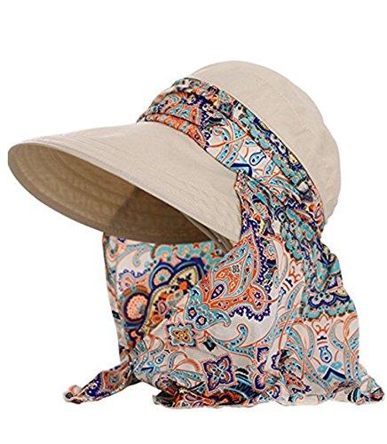ZZLAY Sommer Sonnenhüte Lady Wide Brim Cap 360 ° Solar UV Schutz Visier Hüte Für Damen