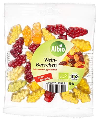 Albio Bio Weinbeerchen, 8er Pack (8 x 100 g)