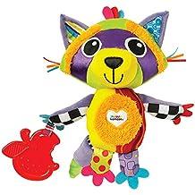 """Lamaze Baby Spielzeug """"Waldi, der Waschbär"""" Clip & Go - hochwertiges Kleinkindspielzeug - Greifling Anhänger zur Stärkung der Eltern-Kind-Beziehung - ab 0 Monate"""