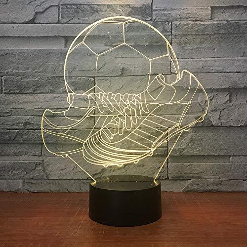 Neue Led Geschenk Lampe Kreuz Border 3d Nachtlicht Bunte Touch Home Decoration Custom Schuhe 3d Leuchten