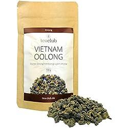 Grüner Oolong Tee aus Vietnam 100g/Oolongtee mit blumig-süßem Aroma/Halbfermentierter Tee ohne Aromazusatz/Oolong von TeaClub
