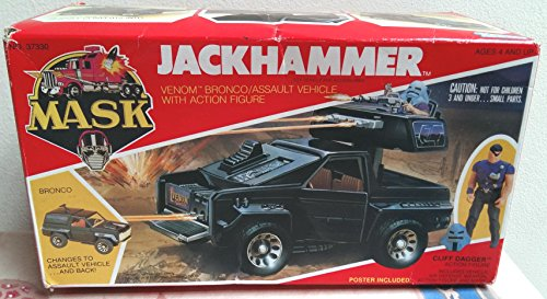 Jackhammer MASK vehicle toy