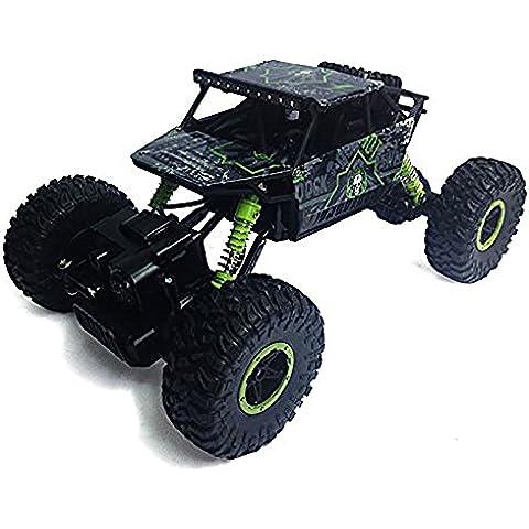 Creation® Rock Crawler RC de control remoto Alto rendimiento Camión 2.4 GHz Sistema de control 4WD todo tipo de clima 01:18 tamaño RTR