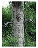 Horror-Shop Spukender Halloween Baumgeist zum dekorieren im Halloween Garten
