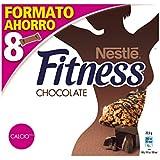 Nestlé Fitness - Barritas de Cereales con Chocolate - 6 Cajas de 8 Barritas de Cereales - Total: 48 Barritas