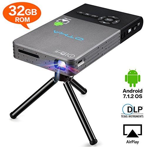OTHA--Videoprojecteur,Mini Videoprojecteur, Projecteur Vidéo,...