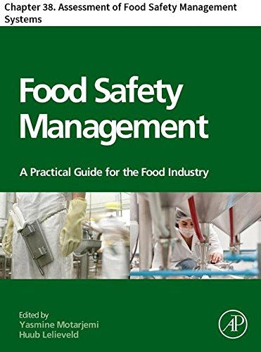 Food Safety Management: Chapter 38. Assessment of Food Safety Management Systems (English Edition) -