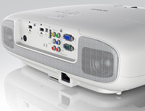 Bild 51: Epson EH-TW6100 3D Heimkino 3LCD-Projektor (Full HD 1080p, 2.300 Lumen Weiß & Farbhelligkeit, 40.000:1 Kontrast, 2x HDMI (1x MHL), inkl. 1x 3D Brille) schwarz