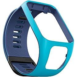 TomTom watch strap for Runner 3, Spark 3, Runner 2, Spark, Golfer 2 Light Blue/Indigo, Small
