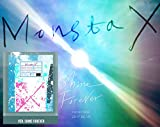 MONSTA X KPOP 1st Repackage [SHINE FOREVER Ver.] Album CD + Photobook + Photocard + Mini Poster + Sticker