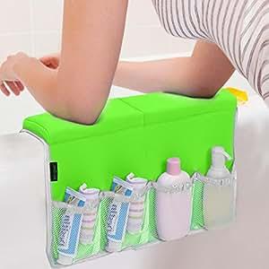 bathtub elbow rest by lebogner pure cushion comfort. Black Bedroom Furniture Sets. Home Design Ideas