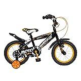 #6: Brooks MotoCub 14 Bike, Kids One Size (Black/Orange)