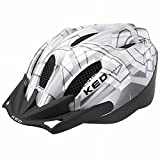 KED Flitzi Helmet silver white Kopfumfang 56-61 cm 2016 mountainbike helm downhill