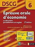Image de Épreuve orale d'économie se déroulant partiellement en anglais
