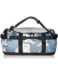 The North Face Base Camp, Dusty Blue Around The World Print/Asphalt Grey, M, Gr. 69L (35.5x64.5x35.5)