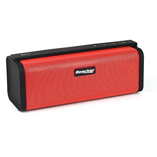 Reacher Altoparlante Bluetooth Portatile con radio FM, la Banca di