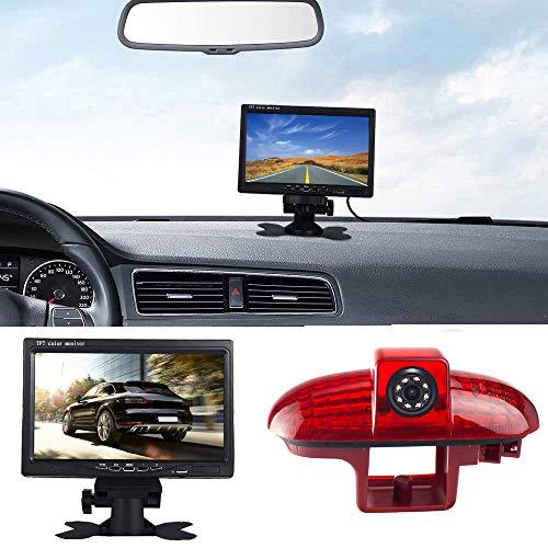 7'' Pouces TFT LCD Moniteur de Voitures + HD Vision Nocturne IR Feu de Freinage Caméra de recul pour Opel Vivaro Surf Concept/Combo/Vauxhall/Renault Trafic/Fiat Talento/Nissan Primastar