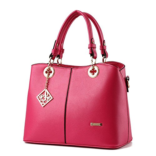 koson-man-damen-pu-leder-sling-vintage-tote-taschen-top-griff-handtasche-pink-rosarot-kmukhb133