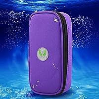 Estuche de insulina, bolsa de refrigerador diabética portátil de 3 colores, refrigerador de medicamentos para diabéticos a prueba de agua para viajar, bolsa de hielo no incluida(Morado)