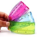 SBS Flexible Unbreakable Ruler (30 cm) - Set of 2