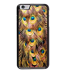 ifasho Designer Back Case Cover for Apple iPhone 6 Plus :: Apple iPhone 6+ (Fancy National Bird Flying Peacock )