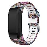SUPORE Garmin Vivosmart HR Bracelet, Accessoires réglable Silicone Souple Bracelet de Montre de Remplacement conçu pour Garmin Vivosmart HR Smart Sport Montre