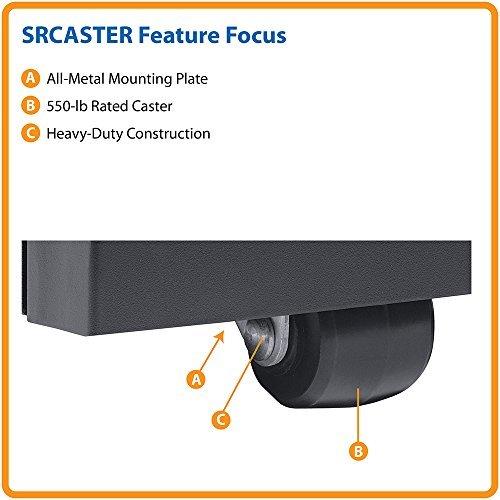 Tripp Lite SRCASTER - Smart Rack Enclosure Heavy Duty Mobile Rolling Caster Kit -