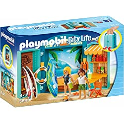 Playmobil- Coffre Boutique de Surf, 5641