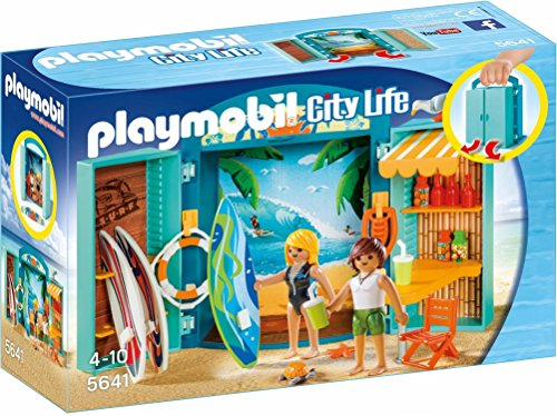 Playmobil- Cofre Tienda Surf