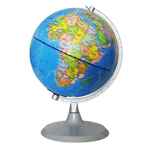 Homyl 2 in 1 Beleuchtete Weltkugel & Konstellationskugel Globus für Haus / Büro Tisch Dekoration - 20CM