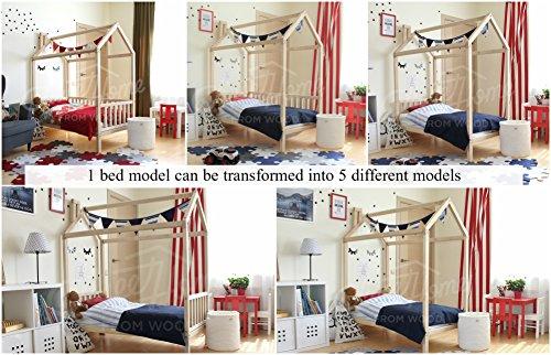 Sweet Home of Wood Montessori - Cama Patas Valla
