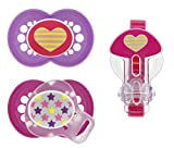 Mam Trends Silicone Pacifier With Clip, ...