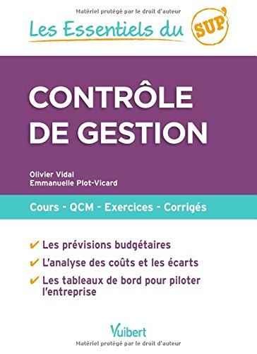 Contrle de gestion : Cours - QCM - Entranement - Corrigs