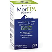 Minami Nutrition MorEPA Smart Fat 60 Softgels (Packaging may vary)