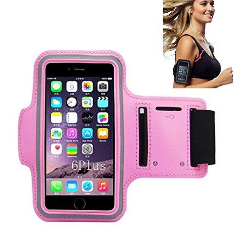 Sportarmband, Morris Wasser resistand Schlüssel Halter Karte Halter Sporthülle für Smartphones iPhone 7, 7Plus, 6, 6Plus, 6S, 5, 5S, 4, 4S, Galaxy S3, S4+ Schlüsselhalter, wasserabweisend, Rose Htc Tattoo
