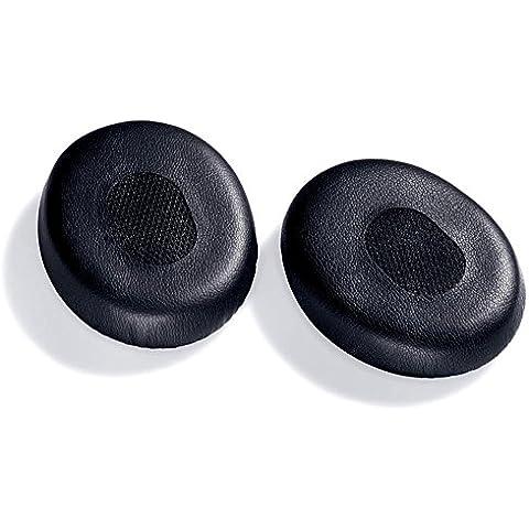 WARRAH modello elasticizzato multi-Auricolari in gommapiuma e custodia in pelle sintetica, colore nero, di sostituzione di parti per la riparazione
