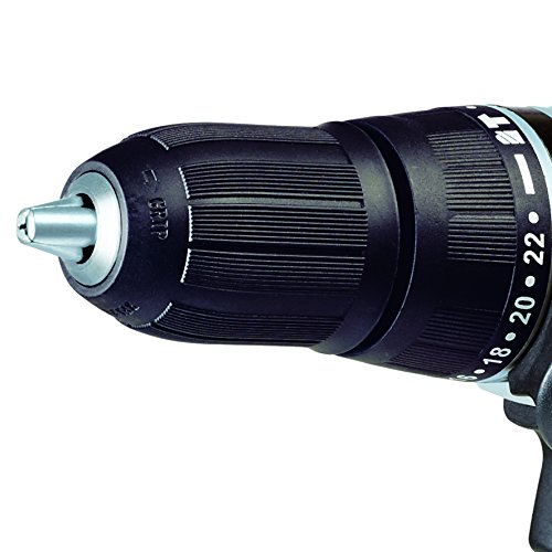 Einhell Akku Schlagbohrschrauber TE-CD 18-2 Li-i Power X-Change (Lithium Ionen, 18 V, 1,5 Ah, 2 Gang, 48 Nm, LED-Licht, Schnellladegerät, Koffer) - 4