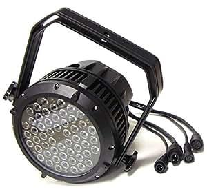 Cablematic - PAR64 54-3W LED Spotlight IP65 noir