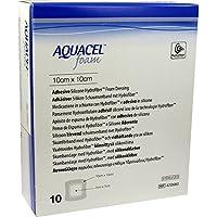 AQUACEL Foam adhäsiv 10x10 cm Verband 10 St Verband preisvergleich bei billige-tabletten.eu
