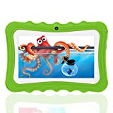 Tablette Enfant 7 Pouces IPS/HD, 2 Go RAM 32 Go ROM, Android Quad Core Tablette...